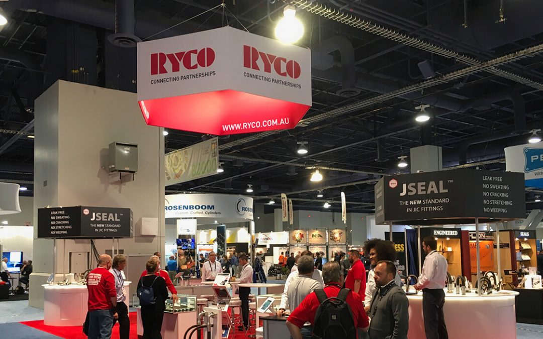 RYCO Hydraulics is at Conexpo, Las Vegas 2017