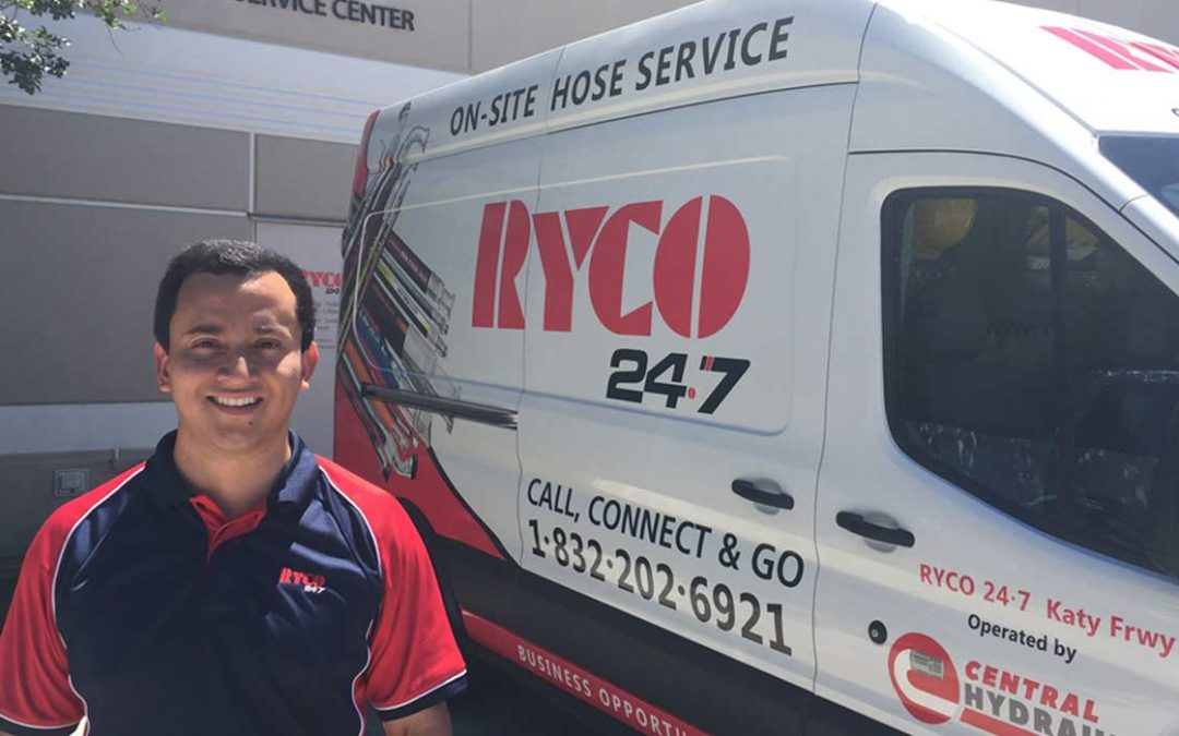 RYCO 24•7 – Young Entrepreneur Launches 24•7 business in Houston