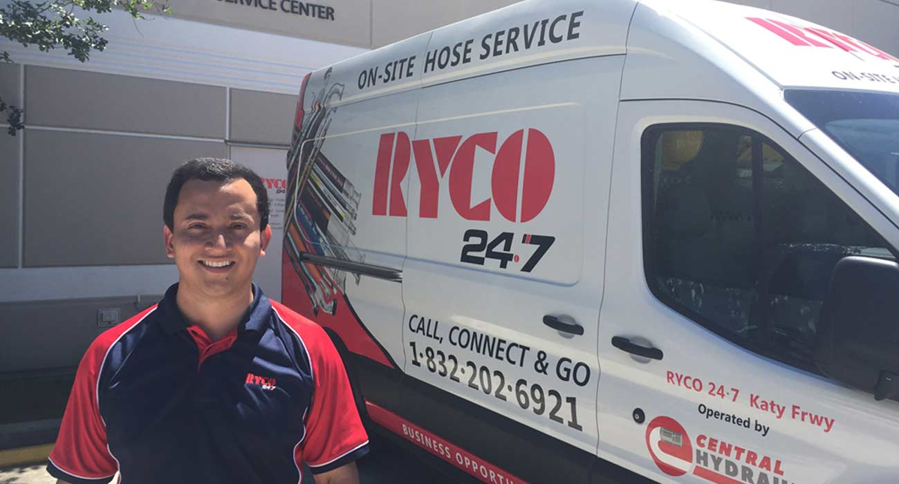 RYCO 24•7 - Young Entrepreneur Launches 24•7 business in Houston
