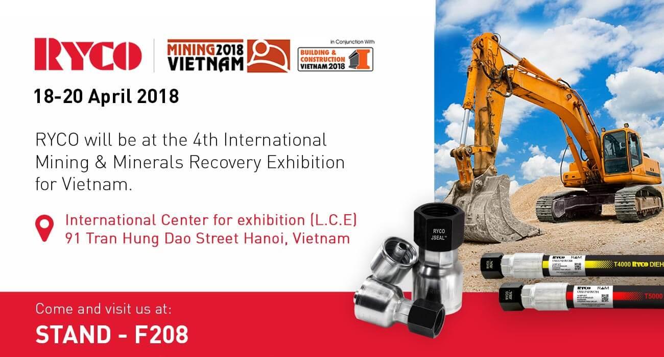 RYCO Mining Vietname April 2018