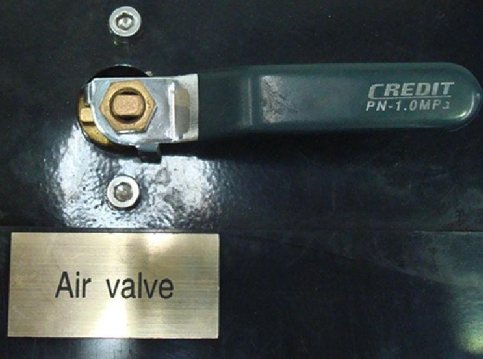 RYCO Proof Test Rig - Air Valve