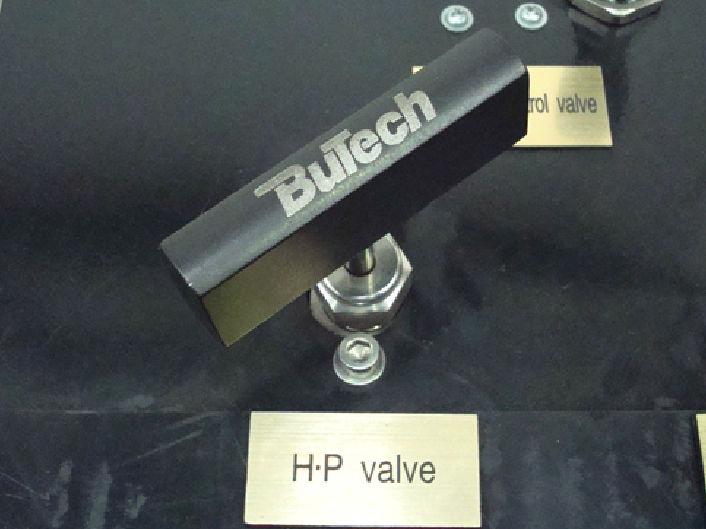 RYCO Proof Test Rig - High Pressure Valve