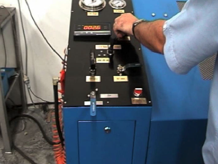 RYCO Proof Test Rig - Stabilize test pressure