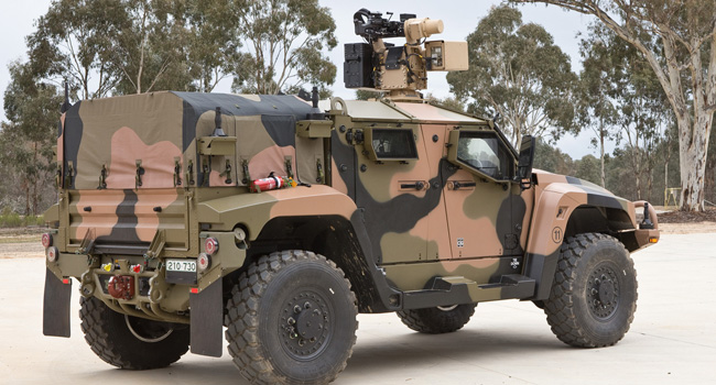 Thales Hawkei - Next Generation Protected Vehicle - RYCO Hydraulics