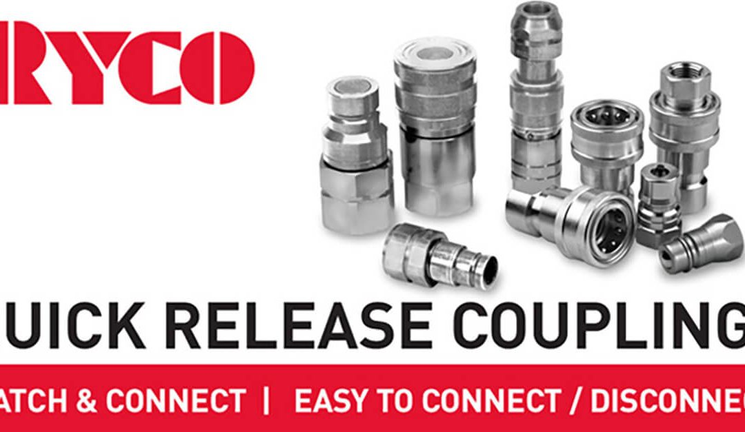 Match & Connect with RYCO's  Quick Release Couplings