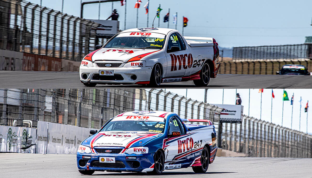 RYCO 24•7 V8 Utes Championship –  2 Rounds in, 2 more to go!