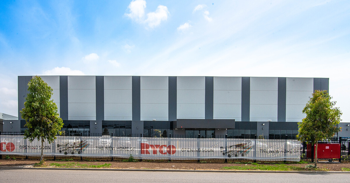 RYCO New Office Calarco Drive Derrimut Vic