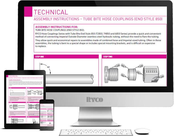 RYCO Assembly Instructions S134 series J lock