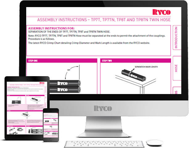 RYCO Assembly Instructions TP7T