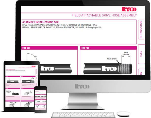 RYCO field attachable skive