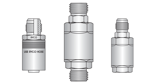 Hydraulic Adaptors Range