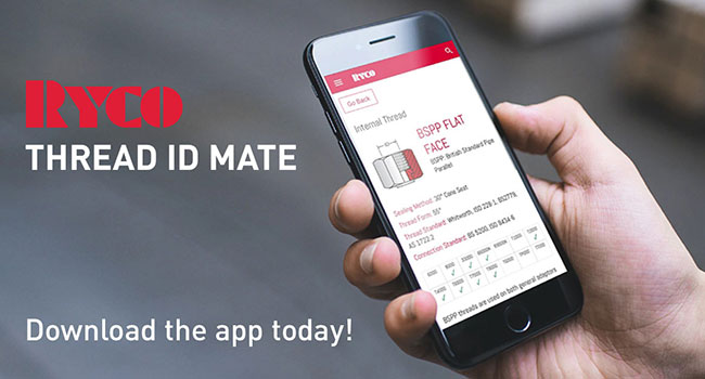 RYCO Thread ID Mate App-video-link