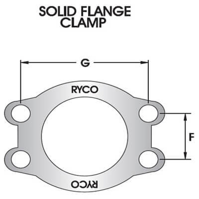 SAE Solid Flange Clamp