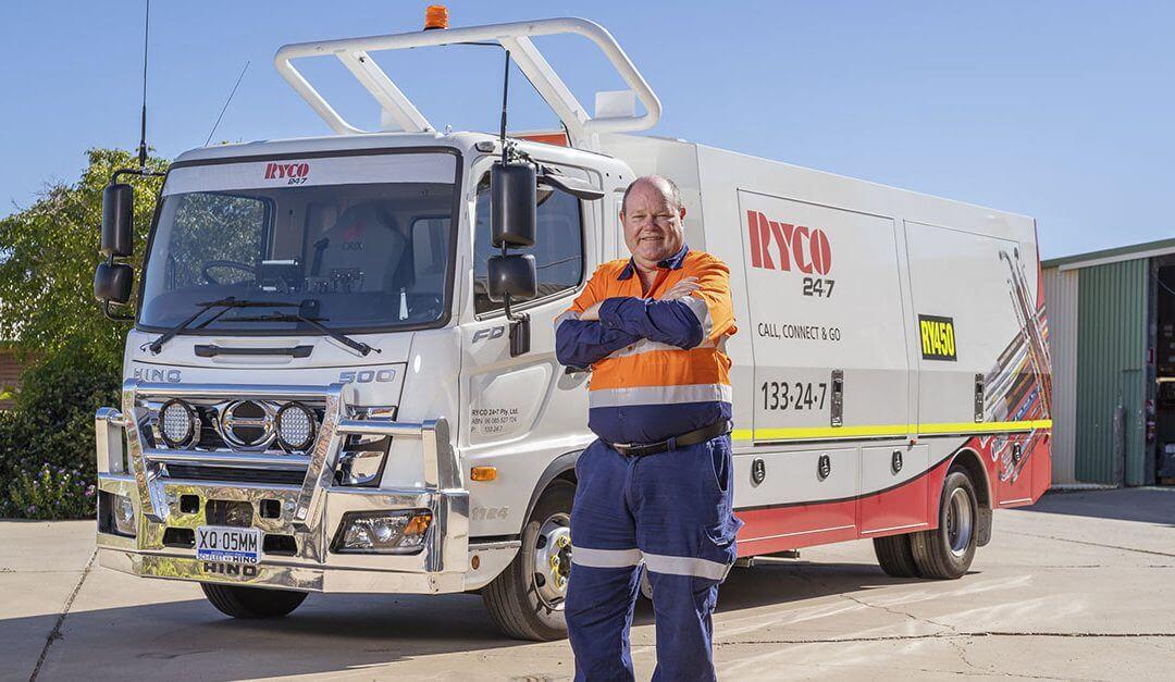 RYCO 24•7 New Fleet of Hino Trucks