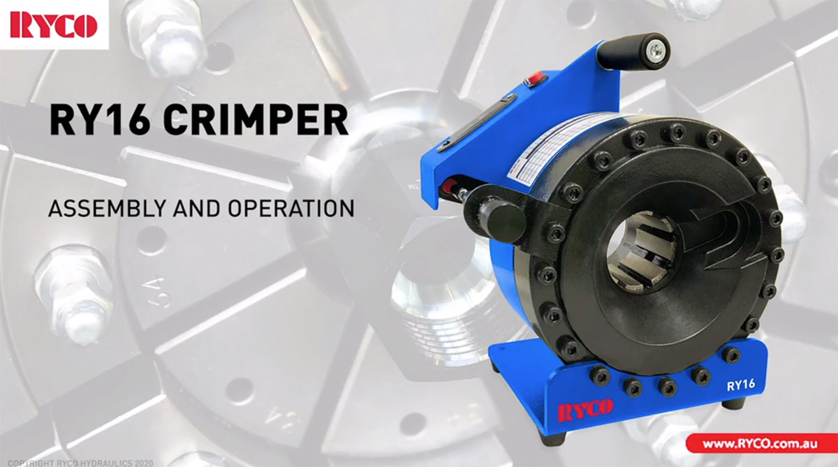 RYCO RY16 Crimper Assembly & Operation