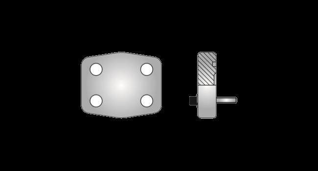 products sae flange blocks code 62 blind weld S968
