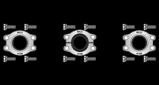SAE Flange Clamps & Kits Code 62