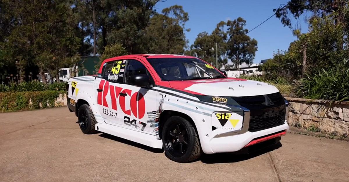 RYCO 247 Sponsor V8 SuperUtes Team Triton