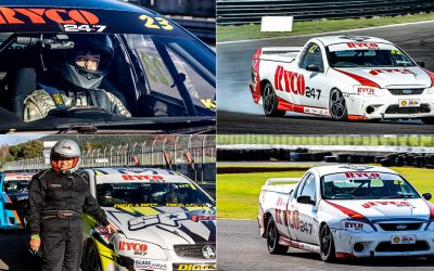 Paul Manuell Wins RYCO 24•7 NZ V8 Utes  Series In Taupo Thriller