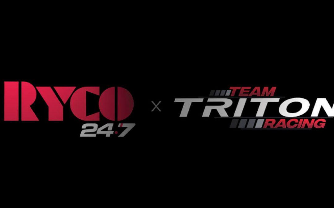 RYCO 24•7 Major Sponsors of V8 SuperUtes –  Team Triton & Craig Dontas