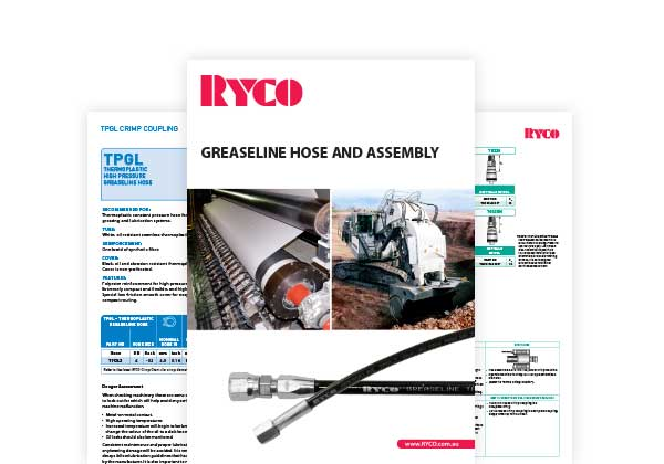 RYCO Grease-line Hose & Assembly