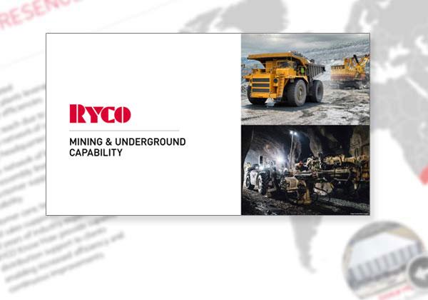 RYCO Mining & Underground Capability Profile