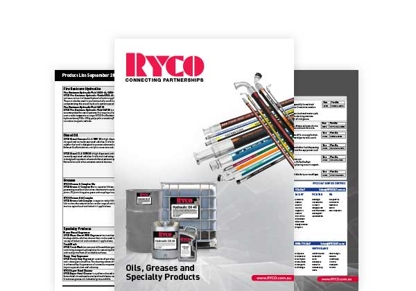 RYCO Oil, Greases & Specialty Hoses